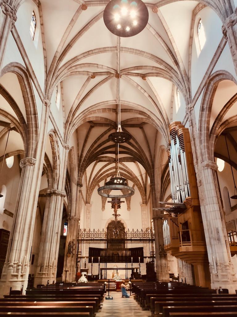 Alcala de Henares Catedral Magistral nef