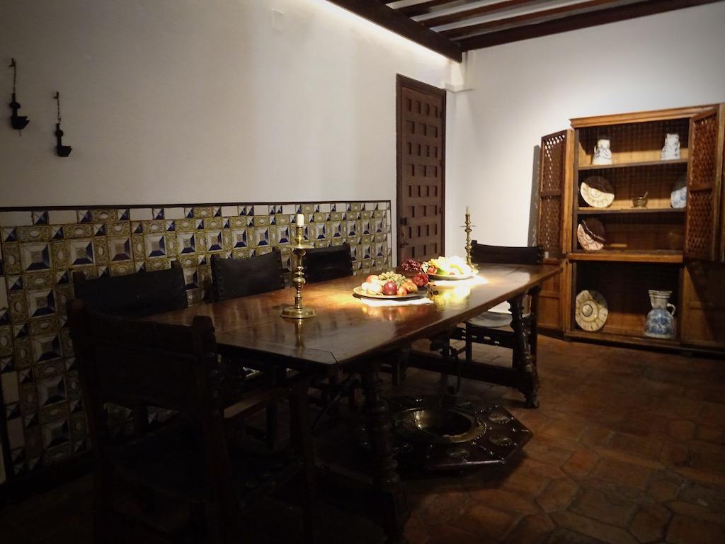 Alcala de Henares musee don quichotte salle a manger