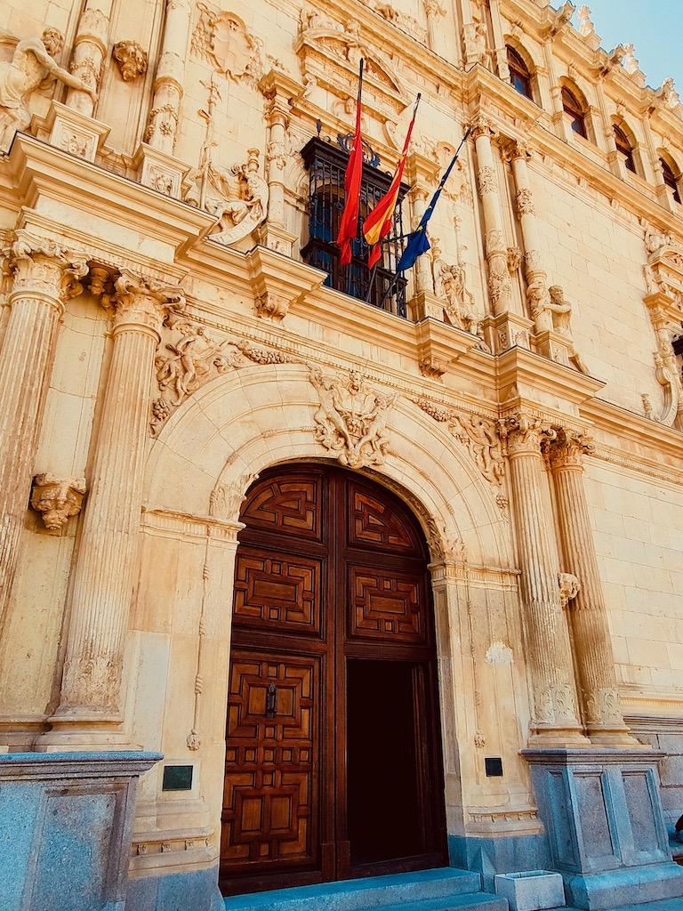 Alcala de Henares San Ildefonso porte universite