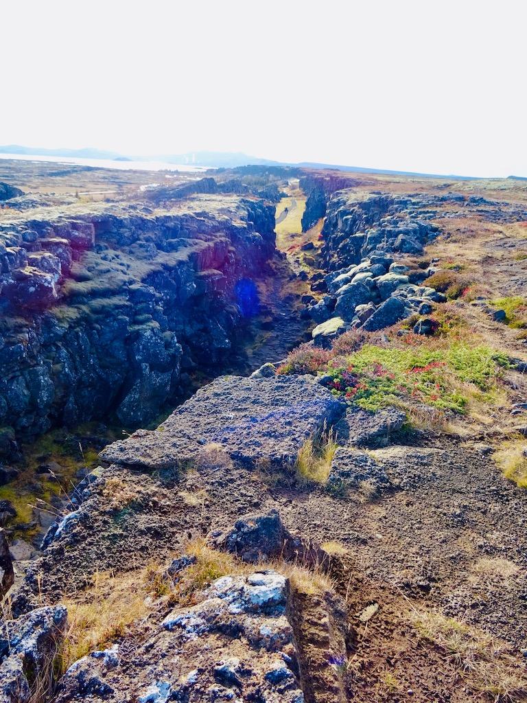 Thingvellir National Park Almannagjá fault