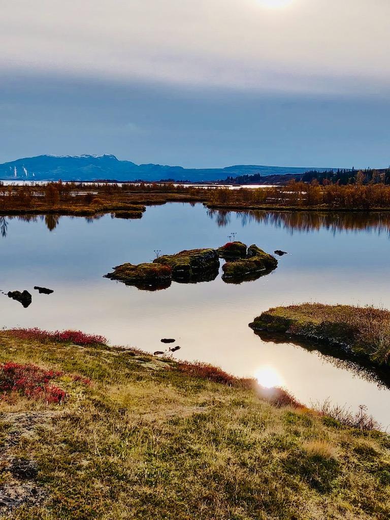 Thingvellir National Park Thingvallavatn lake