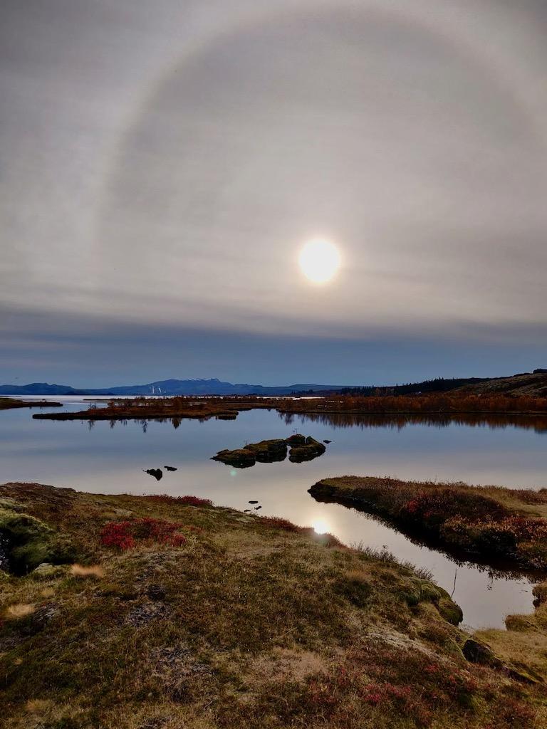 Thingvellir National Park lake Thingvallavatn